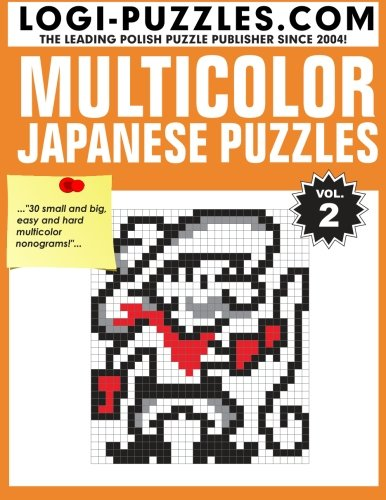 Multicolor Japanese Puzzles (Volume 2) (Japanese Number Puzzles compare prices)