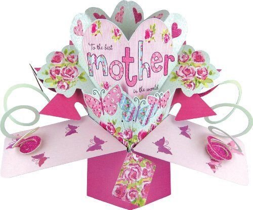 Popular birthday wishes cards for mom mother to the for Pop up birthday cards for mom