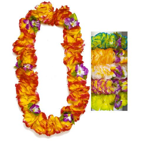 Large Orchid Lei Silk (1 per package)