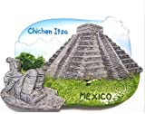 Chichen Itza MEXICO Pyramid landmark 3D Resin TOY Fridge Magnet Free Ship