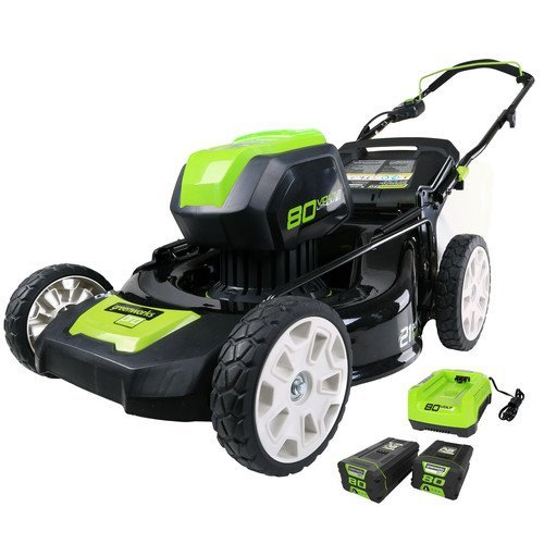 Greenworks-2500402-80V-Cordless-Lithium-Ion-21-in-3-in-1-Lawn-Mower-Kit