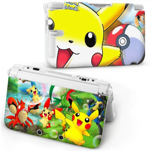 New Pokemon Kinds Plastic Hard Case Cover Protector for Nintendo 3DS N3DS XL/LL - Super Mario 3DLAND