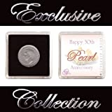 LUCKY SIXPENCE FOR 30TH PEARL WEDDING ANNIVERSARYby The Traditional Gift Co