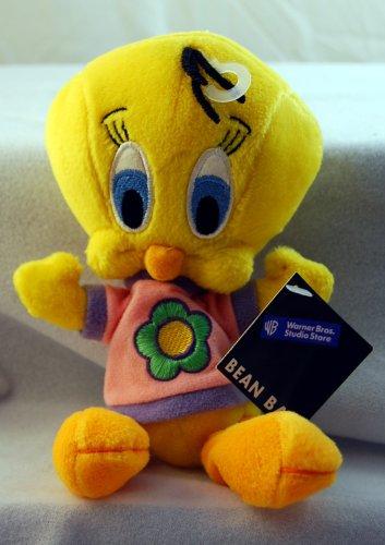 Tweety Flower Shirt Bean Bag Toy