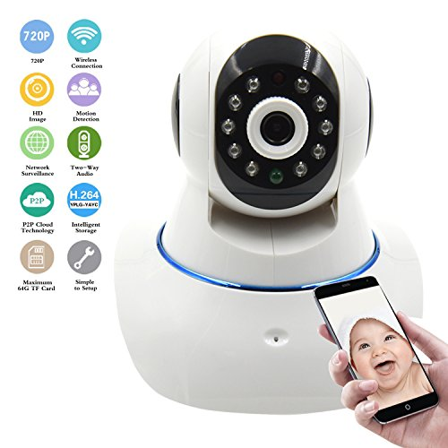 Why Should You Buy Wireless IP Camera, WiFi Home Security Camera HD 720P Surveillance Network Camera Baby Video Monitor Pan/Tilt/ Night Vision with 2 Way Audio Remote Monitoring