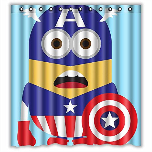 Captain America and Minion