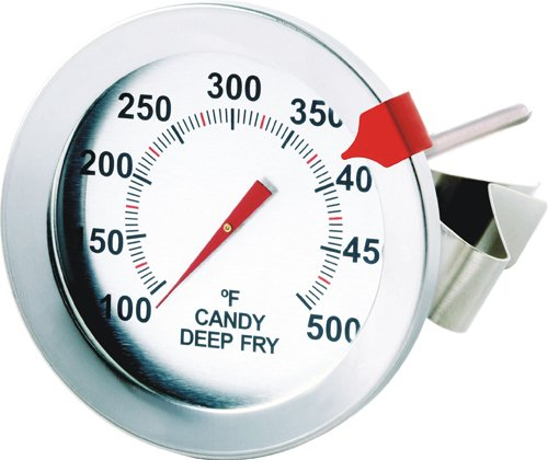 Admetior Candy/Deep Fry Thermometer with Clip
