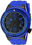 Swiss Legend Men's 21818P-BB-01-BLBS Neptune Black Dial Royal Blue Silicone Watch