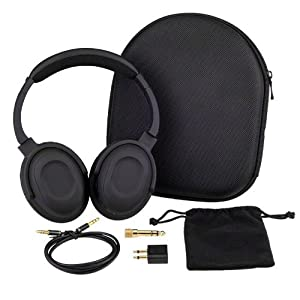 7dayshop AERO 7 Active Noise Cancelling Headphones with Aeroplane Kit and Travel Case