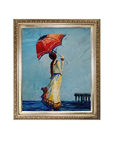 Justyna Kopania Sea Framed Giclée on Canvas