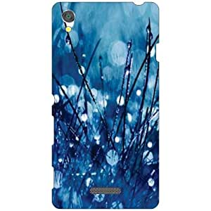 Printland Blue Drops Phone Cover For Sony Xperia T3 D5102