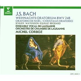 """Bach, JS : Weihnachtsoratorium [Christmas Oratorio] BWV248 : Part 2 """"Wir singen dir in deinem Heer"""" [Choir]"""