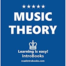 Music Theory Audiobook by  IntroBooks Narrated by Megan Matire