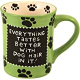 Our Name Is Mud by Lorrie Veasey Dog Hair Mug, 4-1/2-Inch