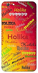 Holika (Popular Girl Name) Name & Sign Printed All over customize & Personalized!! Protective back cover for your Smart Phone : Samsung Galaxy E-7
