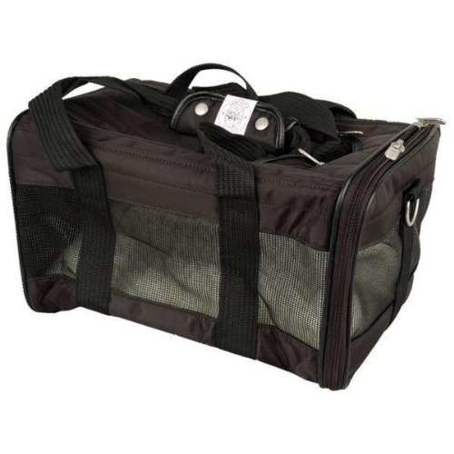 Quaker Pet Group LLC Sherpa Original Carrier – Small, Black