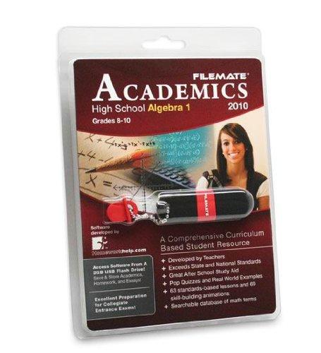 Wintec Filemate Academics Usb 2Gb Educational Software Algebra 1 Model 3Fmusbed2Ga1-R