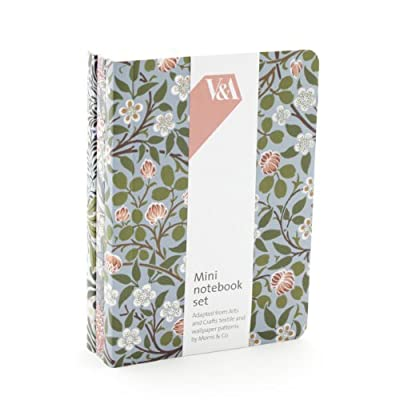 V&A Morris Mini Notebook Set