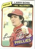 1980 Topps Baseball Card #630 Larry Bowa Mint