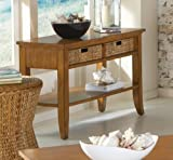 Largo Palm Isle Sofa Table w/Baskets - T1650-131