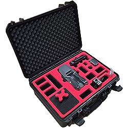 Profi Transportkoffer passend für DJI Mavic Pro (Explorer Edition) mit Platz für insgesamt 7 Akkus und viel Zubehör - von MC-CASES - Hergestellt in Deutschland - Outdoor Koffer - IP67 Wasserdicht - Automatisches Druckausgleichsventil