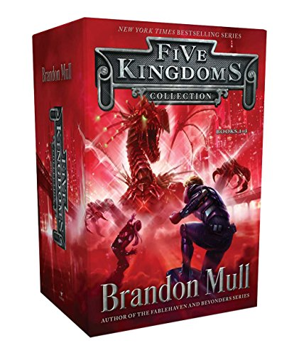 Five Kingdoms Collection Books 1-3: Sky Raiders; Rogue Knight; Crystal Keepers, by Brandon Mull