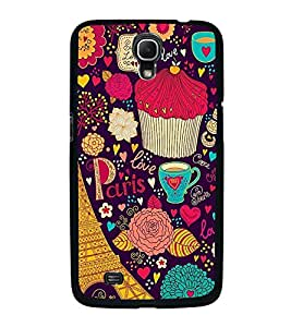 Fuson Premium 2D Back Case Cover Love in Paris With Multi Background Degined For Samsung Galaxy Mega 6.3 i9200::Samsung Galaxy Mega 6.3 i91200