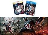 【Amazon.co.jp限定】シビル・ウォー/キャプテン・アメリカMovieNEXプラス3D:オンライン予約限定商品 [ブルーレイ3D+ブルーレイ+DVD+デジタルコピー(クラウド対応)+MovieNEXワールド](オリジナルワイドポスター付) [Blu-ray]