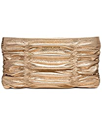 MICHAEL Michael Kors Webster Wallet Clutch Pale Gold