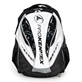 Q Series Tennis Backpack Silver and Black by Pro Kennex