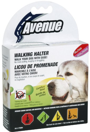 Hagen Avenue Walking Halter head collar dog LG/XL 18-22