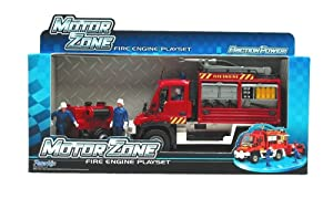 Motor Zone Fire Engine Playset