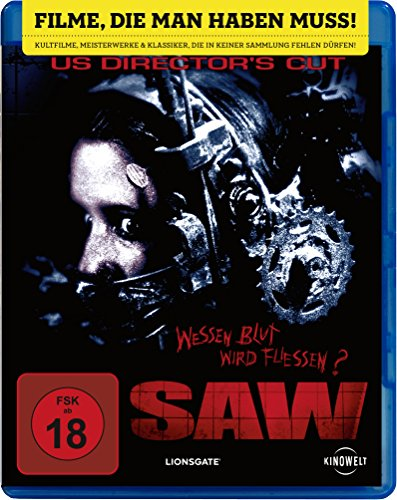 Saw (US Director's Cut) [Blu-ray]