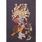 """Volkskunst aus Indien Batik-Gem�lde Wachs auf Stoff 91 x 61 cmvon """"ShalinIndia"""""""