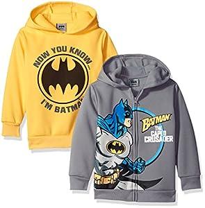 DC Comics Boys' Batman 2 Pack Hoodies at Gotham City Store