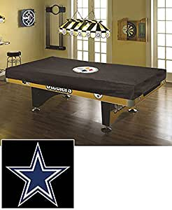 8 Foot Nfl Pool Table Cover Dallas Cowboys Sports Outdoors
