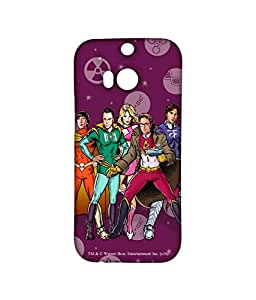 BBT Superheroes - Sublime Case for HTC One M8
