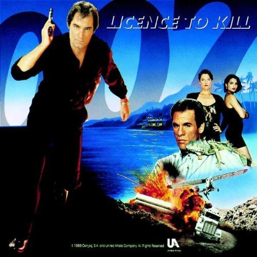 Original album cover of Licence To Kill: Original Motion Picture Soundtrack Album by Gladys Knight, Patty LaBelle, Ivory, Tim Feehan Soundtrack edition (1989) Audio CD by James Bond - OST