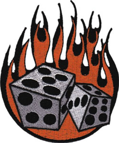 Application Flaming Dice Patch