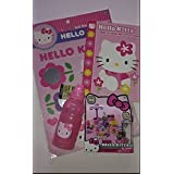 Hello Kitty Items ~ Mini Doll Play Kit Xoxo ~ Bloom And Grow ~ Jumbo Coloring Book ~ Water Bottle ~