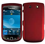 Red Hard Case Cover for Blackberry Torch 9810 4G Torch 2