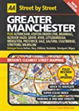 img - for AA Street by Street Greater Manchester: Maxi book / textbook / text book