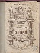 Faust, opéra en 5 actes de jules…