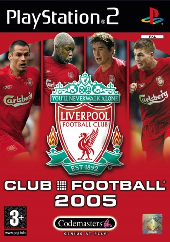 Club Football: Liverpool FC 2005 (PS2)