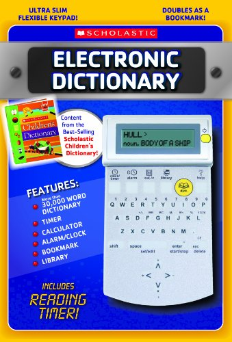Scholastic Electronic Dictionary