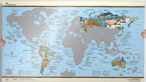 Bucket-List-World-Map-Scratch-Edition