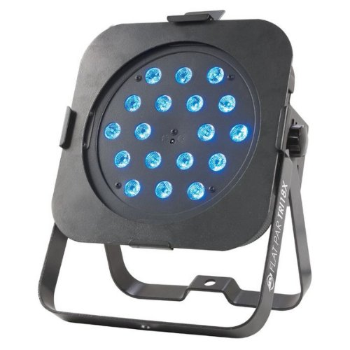 American Dj Flat Par Tri18X | Low Profile Wash Fixture With 18X Tri Leds