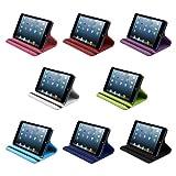 【minisuit】Apple iPad mini レザー調 スタンド 【ケース】 360度回転式 全8色 ピンク