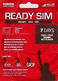 アメリカ Ready プリペイド SIM アクティベーションが簡単! (通話とSMS、データ通信500MB 7日間)