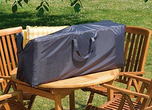Wehncke Deluxe Schutzhülle Stuhlauflagen Tragetasche Gartenmöbel Sitzgarnutur 125x32x50 cm Gartenstuhl Polyester Oxford 420D 15180